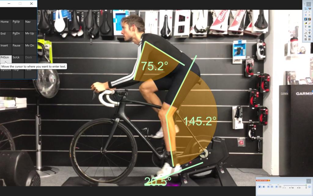 Etude Posturale Cycliste en Ligne